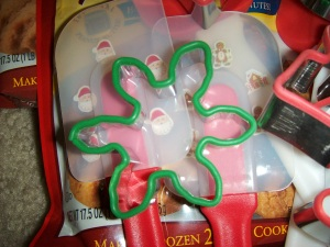 Cookie cutter & Santa spatula